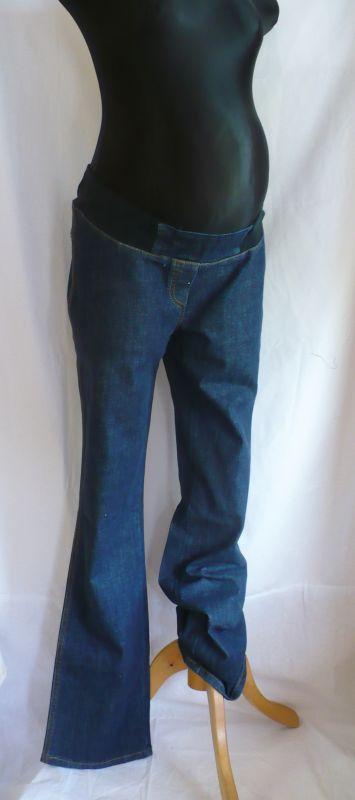 těhotenské kalhoty rifle džíny v.42 - VÝPRODEJ Rialto