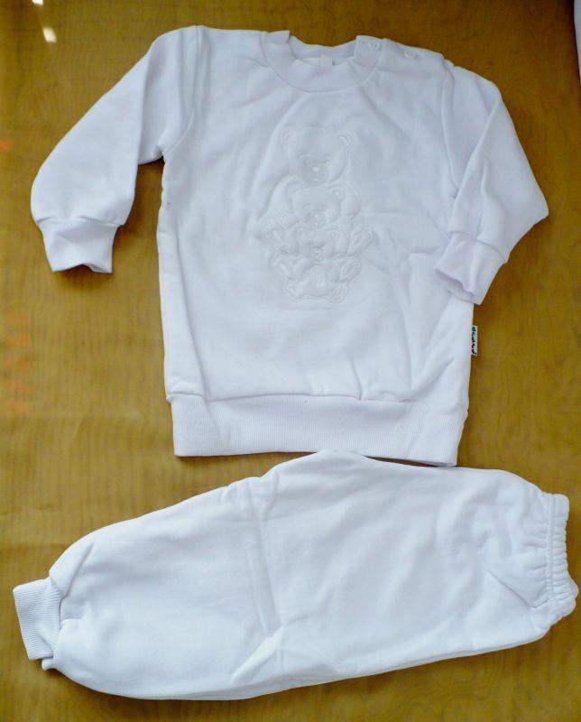 Bílá tepláková souprava teplákovka 82 Queen