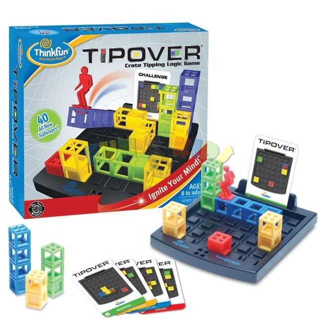 Thinkfun Tip Over strategická hra pro 1 hráče