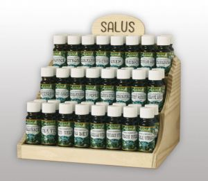 Esenciální vonný olej, silice pokušení Salus 10ml. Saloos- Salus