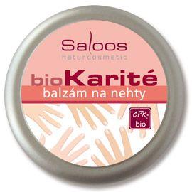 BioKarité balzámy do kapsy i do kabelky Balzám na nehty Saloos- Salus