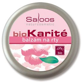 BioKarité balzámy do kapsy i do kabelky na rty Saloos- Salus