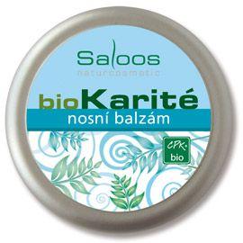 BioKarité balzámy do kapsy i do kabelky Nosní balzám Saloos- Salus
