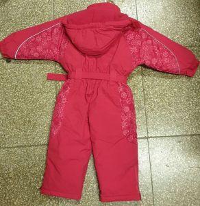 Dětská dívčí zimní kombinéza Wolf červená