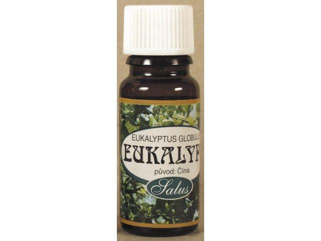 Esenciální vonný olej Eukalyptus eukalypt Saloos