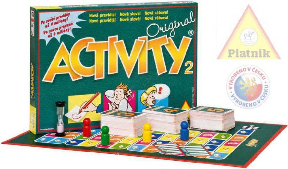 Hra ACTIVITY 2 *SPOLEČENSKÉ HRY 12+ Piatnik