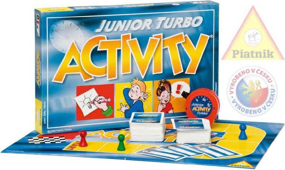 Hra ACTIVITY junior turbo *SPOLEČENSKÉ HRY* 8+ Piatnik