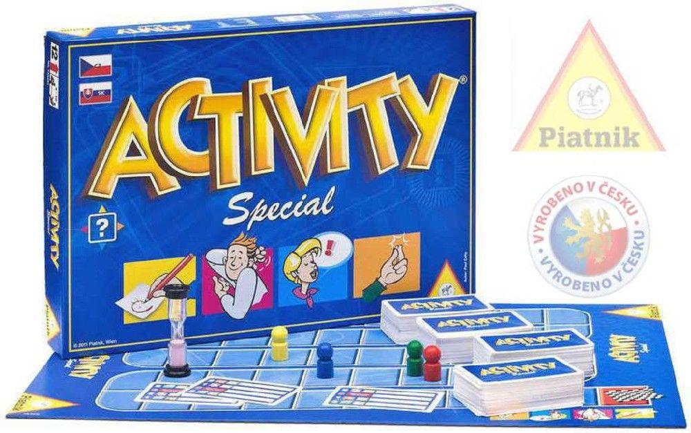 Hra ACTIVITY Speciál *SPOLEČENSKÉ HRY* 12+ Piatnik