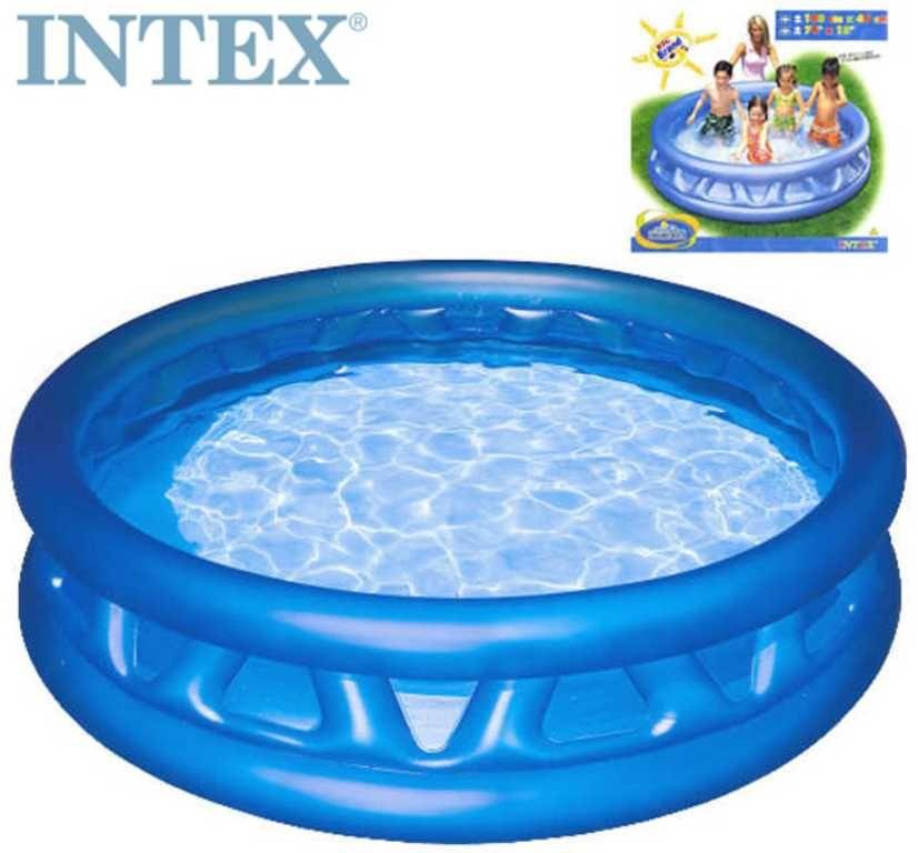 INTEX Bazén kónický 188 x 46cm kulatý nafukovací modrý