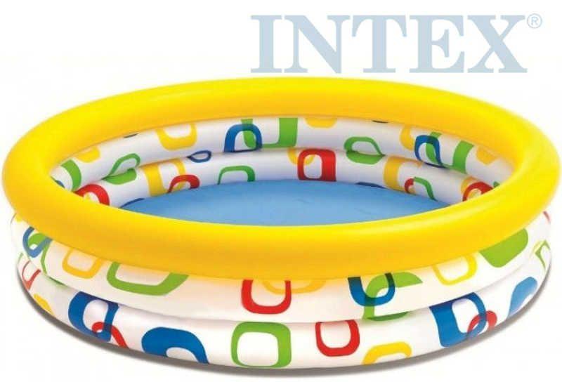 INTEX Bazén nafukovací kruh 147 x 33 cm na vodu