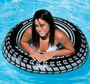 INTEX Kruh plavací nafukovací pneumatika 91 cm