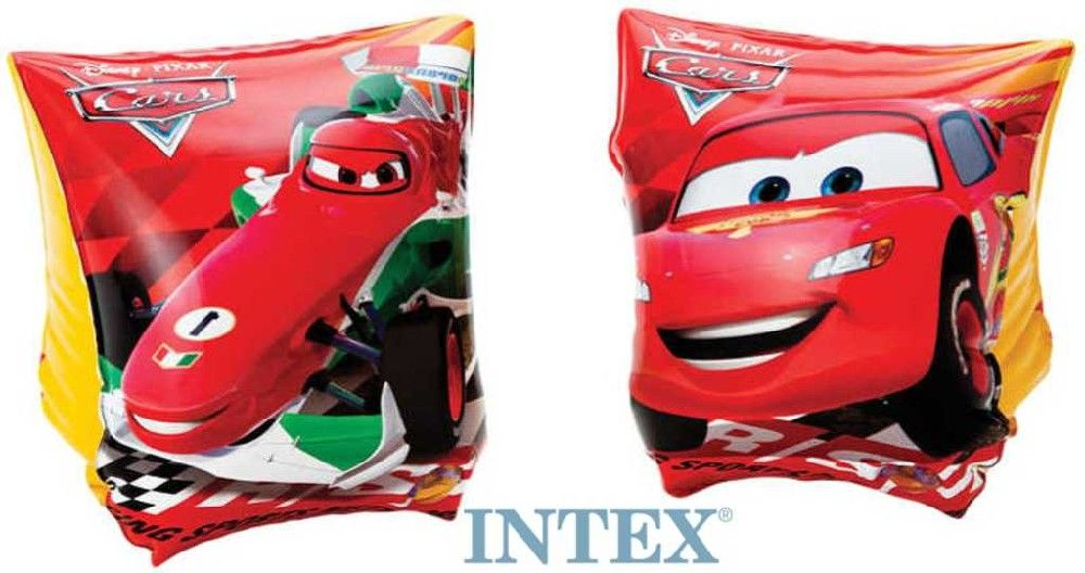 INTEX Rukávky nafukovací auta CARS 23 x 15 cm PLAVACÍ 56652