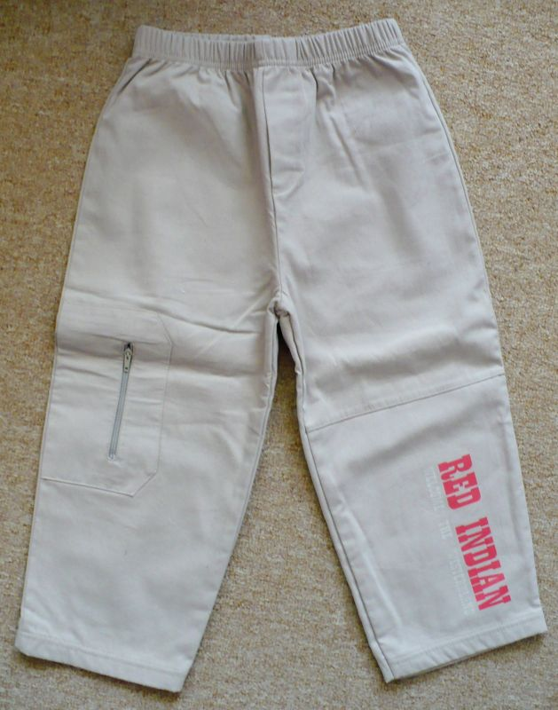 Plátěné kalhoty s bavlněnou podšívkou - VÝPRODEJ Trend Tulec