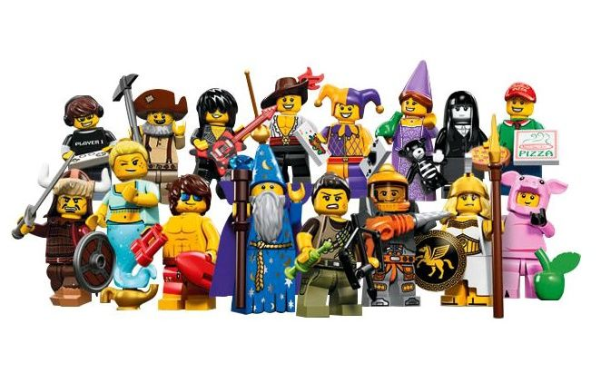 LEGO 71007 Minifigurky 12 série