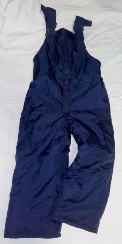Lyžařské kalhoty zimní oteplováky 5/6 let - modrá barva WT