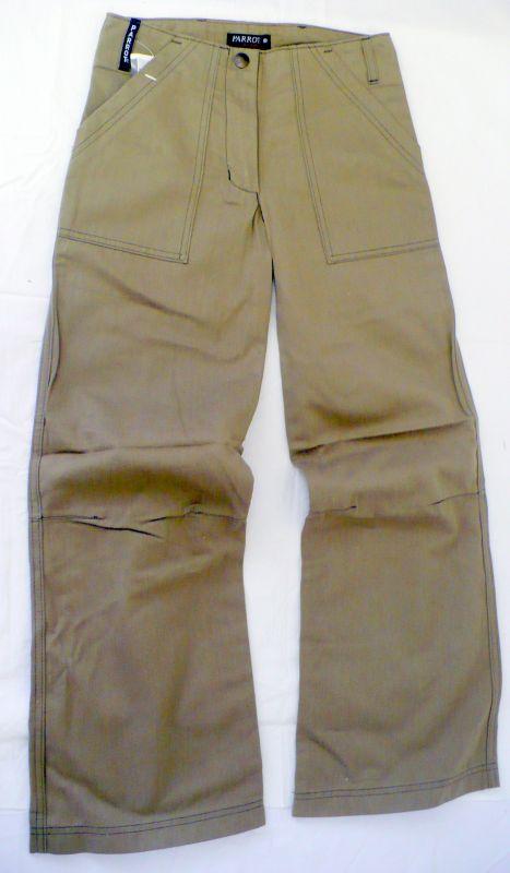 Kalhoty plátěné 134 - VÝPRODEJ Parrot