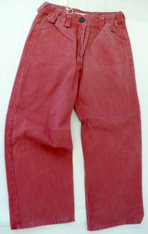 Rifle - riflové kalhoty červené 122 - VÝPRODEJ Woody