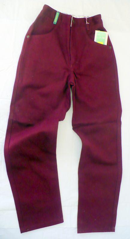 Rifle - riflové kalhoty červené 134 Parrot