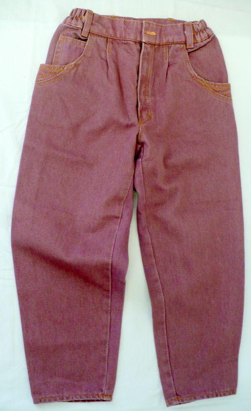 Rifle - riflové kalhoty červené - VÝPRODEJ