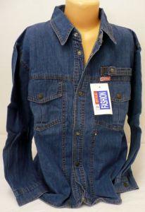 Riflová košile 140