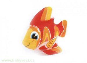 Rybka ryba oranžová nafukovací 20-25cm Intex