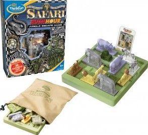 Safari Rush Hour - je variantou oblíbené logické hryBláznivá křižovatka, tentokrát z prostředí africké buše Corfix