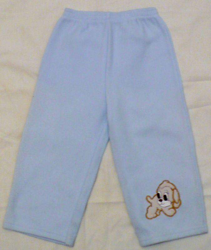 Modré kalhoty tepláky tepláčky 92 VÝPRODEJ
