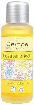 Tělový a masážní oleje - 50ml Devatero kvítí Saloos- Salus