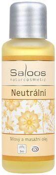 Tělový a masážní oleje - 50ml Neutrální Saloos- Salus