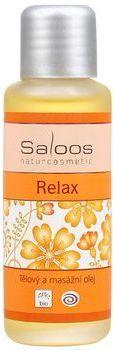 Tělový a masážní oleje - 50ml Relax Saloos- Salus