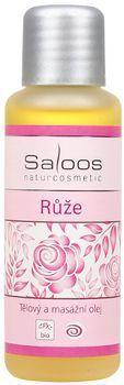 Tělový a masážní oleje - 50ml Růže Saloos- Salus