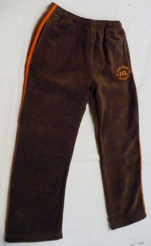 Teploučké flísové kalhoty tepláky tepláčky 128 - VÝPRODEJ Cactus Clone