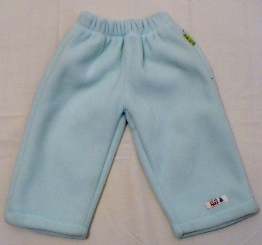 Teploučké flísové kalhoty tepláky tepláčky 68-74 - VÝPRODEJ Baby Kap
