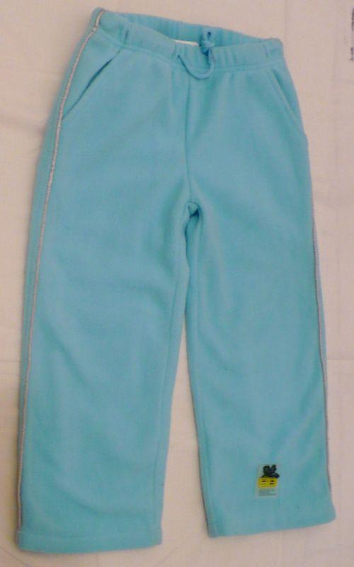 Teploučké flísové kalhoty tepláky tepláčky 98-104 - VÝPRODEJ Sandra Bell
